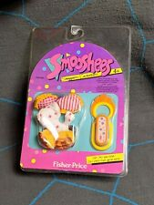 Vintage Fisher Price Smooshees Smugglers Clip On Scooter Pup