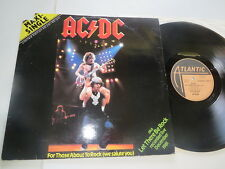 AC/DC For those about to rock / let there be German Maxi 1981 Vinyl/ Cover: good
