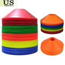 Disc Cones Soccer Football Field Marking Cross Training Track 20 / 50 / 100 Set