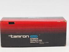 Tamron 300mm f/5.6 Adaptall Model CT-300 Prime Lens