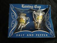 Vintage - Souvenir- Loving Cup, Silver Springs Fl...Salt & Pepper Shakers- U.S.A