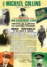 Michael Collins Easter 1916 Irish Proclamation A4 Poster in Irish/English