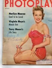 Terry Moore Marilyn Monroe Pier Angeli Burt Lancaster Photoplay August 1954
