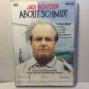 About Schmidt  (DVD, 2002) Region 4 PAL