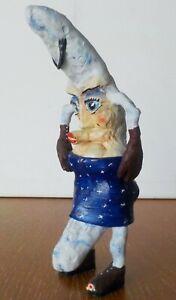 """""""Madame Luna de Moona"""" Original GWimby Moon Sculpture OOAK"""