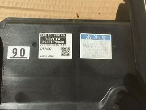 2006-2012 GENUINE TOYOTA ESTIMA ENGINE CONTROL UNIT ECU 2AZ-FE 89661-28B40