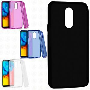 For LG Stylo 5 TPU CANDY Hard Gel Flexi Skin Case Phone Cover Accessory