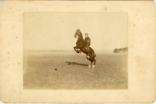 Marion Fils & Cie, Sport Équestre, Entraînement Militaire à cheval, ca.1900, Vin