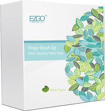 100pc Mint flavor Sugar free Deep Cleaning Teeth Wipes Oral Finger Brush Up