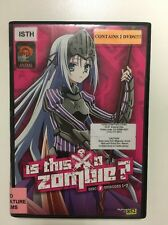 Is This a Zombie: The Complete First Season (DVD, 2012, 2-Disc Set)