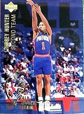 Lindsey Hunter 1994 Upper Deck All Rookie Team Detroit Pistons Basketball card