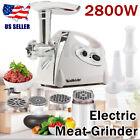 2800W Kitchen Electric Meat Grinder Mincer Sausage Stuffer Maker Filler Slicer photo