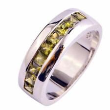 Unbranded Silver Plated Green Fine Jewellery