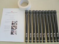 10 x Tour Velvet style MID SIZE Golf Grips brand new with tape and instructions