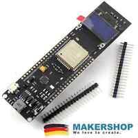ESP 32 TTGO Board mit OLED Batterie Wifi WLAN ESP32 Lipo Mobil Akku Bluetooth