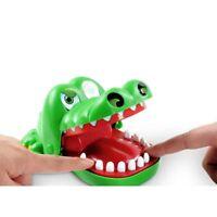 Large Crocodile Mouth Dentist Bite Finger Game Funny Toy Kids Children Gift