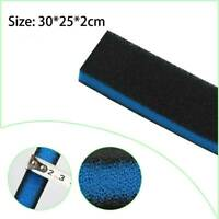 Fish Tank Aquarium Biochemical Filter Foam Pond Filtration Sponge Pad G6A