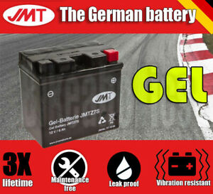 JMT Gel battery - YTZ7S - Yamaha WR 250 F - 2008 - 2017