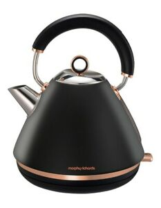 Morphy Richards Accents Traditional Pyramid Kettle – Rose Gold - MOR-102107