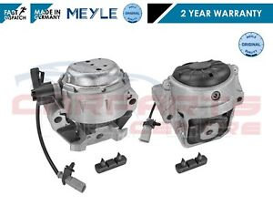 FOR AUDI A6 2.0 2011- LEFT & RIGHT ENGINE MOUNT MOUNTING MEYLE GERMANY