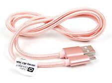 ORO Rosa Micro USB Cavo Dati per gatto S41/S61 telefono