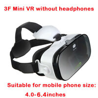 "3D Glasses VR Headset Virtual Reality Google Cardboard For 4""to 6.4"" Smartphone"