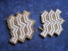 OT-Paar Kragen Rangabzeichen f.e.H.F.F.  2.WK     selten!