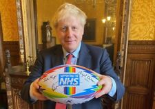 NHS Frontline Heroes Rugby Ball - All proceeds go to charity