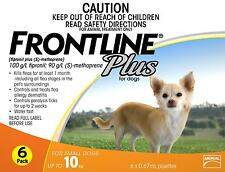 Frontline Plus For Small Dogs Up To 10kg - 6 pack