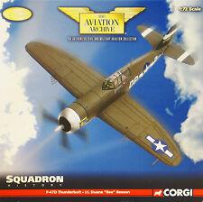 "CORGI us33819 P-47D THUNDERBOLT 334th FS "" BOISE Bee "" Duane Beeson RAF Debden"