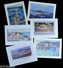 24 Marshall Johnson San Juan Roche Friday Harbor Orcas Ferry Blank Note Cards