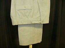 Used Trousers - Pearl - Bill Blass/Raffanti Tuxedo Trousers Pleated 11300