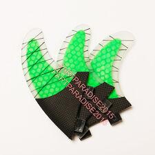 NEW Style FCS Fin Carbonfiber Green Surfboard Fins prancha quilhas de Surf Fins
