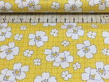 MOJITO   YELLOW FLORAL  WINDHAM FABRIC   PATCHWORK   COTTON     FAT QUARTER