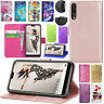 For Huawei Honor 9 STF-L09 Leather Stand Flip Wallet Card Cover Phone Book Case