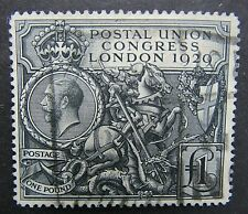 More details for great britain - 1929 p.u.c £1 - used - very decent example