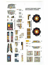 Kenner Y-WING Ywing FIGHTER Vintage Star Wars replacement Sticker set 'NICE'