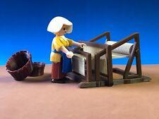 TELAR MINIATURE métier à tisser LOOM FIGURA PLAYMOBIL NO INCLUIDA BELEN CUSTOM