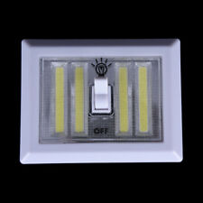 Magnetic 4* COB LED Light Switch Wall Night Lights Battery Operated ClosetLampVP