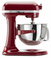 KitchenAid Refurbished of KP26M1X Stand Mixer 6 qt Empire Red BIG Large Capacity