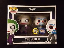 Dark Knight Joker & Banker Robber - Gemini Glow In The Dark Funko Pop, Vaulted