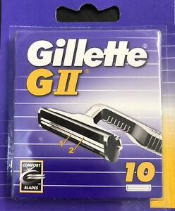 Gillette G2 Rasierklingen 10er Pack ,Neu Ovp