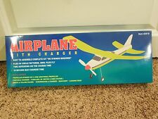 Vintage Lightning Toy Airplane w/ Charger #42619 Easy Assemble Kit Parts Only