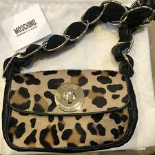 Moschino Cheap And Chic Leopard Pony Skin Bag