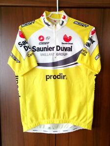 Cycling Jersey Vintage Saunier Duval Scott Castelli size 2XL