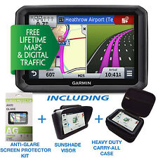 "Garmin Dezl 770 LMT-D 7"" LCD Truck Pro Bundle Europe Maps & Digital Traffic NOH"