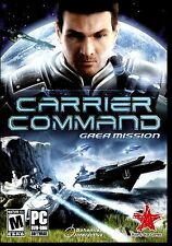 CARRIER COMMAND. GAEA MISSION.BRAND NEW SEALED PC DVD SOFTWARE.SHIPS FAST / FREE