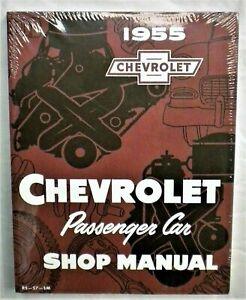 1955 Chevrolet Passenger Car Factory Workshop Manual