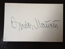 GERDA MAURUS - SILENT FILM ACTRESS - EXCELLENT RARE SIGNED VINTAGE CARD