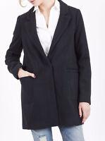 Next Navy Winter Coat Jacket Size 10-18